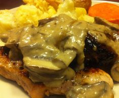 Recipe Mushroom Sauce by Melinda Hutchison - Group Leader - Recipe of category Sauces, dips & spreads Butter Mushroom, Mushroom Gravy, Mushroom Sauce, Creamed Mushrooms, Stuffed Mushrooms, My Favorite Food, Favorite Recipes, Other Recipes, Healthy Fats