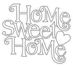 Resultado de imagen de sweet home plantilla