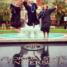 It's also where you took some graduation photos. | 31 Signs You're A Florida State Seminole