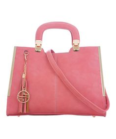 Look what I found on #zulily! Coral Rectangle Tote by Segolene Paris #zulilyfinds