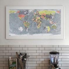 les 68 meilleures images du tableau deco arthur sur pinterest bonnes id es carte du monde et. Black Bedroom Furniture Sets. Home Design Ideas