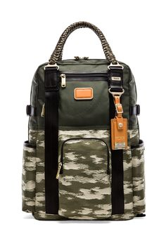 19ac9aeaacb6 Shop for Tumi Alpha Bravo Lejeune Backpack Tote in Spruce & Camo at REVOLVE.