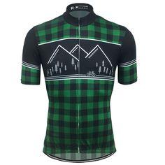 ba69dc3ea FC Calssic Lumberjack Cycling Jersey Green Black