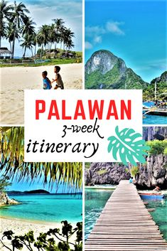 The best itinerary for a perfect trip of 3 weeks in Palawan, Philippines - Philippines Travel, Thailand Travel, Asia Travel, Japan Travel, Travel Usa, Philippines Palawan, Travel Tips, Travel Nepal, Travel Guides