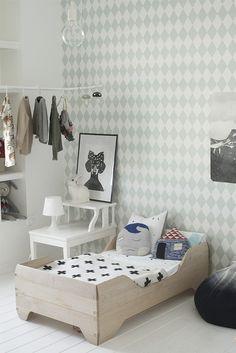Deco and Living: Un cuarto infantil muy guay Girl Room, Girls Bedroom, Bedroom Ideas, Trendy Bedroom, Calm Bedroom, Child's Room, Bedroom Bed, Bedroom Decor, Wall Decor