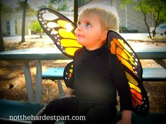Butterfly Halloween costume for toddlers