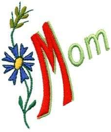 "Free ""Mother's Day"" Design from Embroider This"
