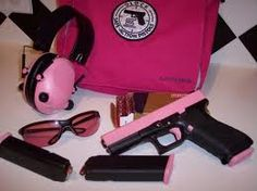 Home Protection - Pink Glock 9mm
