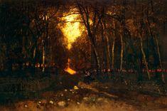 Paál László - Naplemente (1873)126,5 x 189 cmOlaj, vászon Moonlight, The Outsiders, Sunrise, Country Roads, Celestial, Outdoor, Ranges, Outdoors, Sunrises