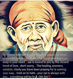 Sai Baba Pictures, God Pictures, Indian Spirituality, Bound To You, Spiritual Religion, Sai Baba Quotes, Alpha Wolf, Baba Image, Baby Krishna