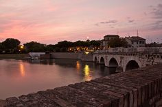 Tiberius bridge at sunset, Rimini by Giuseppe Trisciuoglio, via Flickr