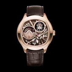 Rose gold Ultra-thin tourbillon Watch G0A39042 - Piaget Luxury Watch Online
