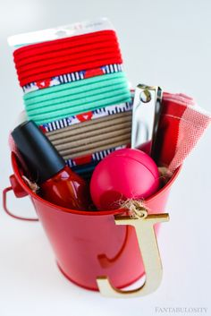 Get ready for Summer - girls night Party Favors for backyard bbq in the Summer!