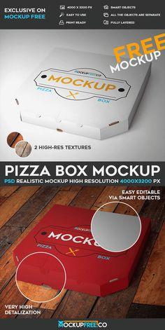 Pizza Box PSD Mockup   Free PSD Templates   #free #photoshop #mockup #psd #pizza #box