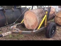 Homemade Bandsaw Mill, Portable Saw Mill, Rough Cut Lumber, Atv Trailers, Wood Mill, Logging Equipment, Snow Plow, Wood Tools