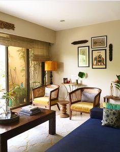 Indian Home Interior, Home Interior Design, Home Design, Indian Interiors, Interior Photo, Ethnic Home Decor, Indian Home Decor, Living Room Designs, Living Room Decor