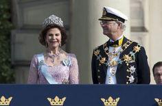 Boda Real de Victoria de Suecia y Daniel Westling el 19 de junio de 2010 en la Catedral de San Nicolás de Estocolmo.