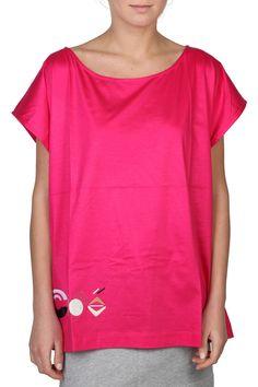 Chloe Cotton Fuchsia T-shirt