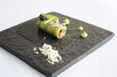 JAAN Restaurant Singapore | ladyironchef: Food & Travel {Cannelloni of New Caledonian Obsiblue Prawn & Avocado}
