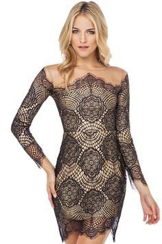 I Wear Red - Lace All Over Dress, $36.00 (http://www.iwearred.com/lace-all-over-dress/)
