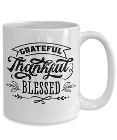 Thankful Holiday gift mug