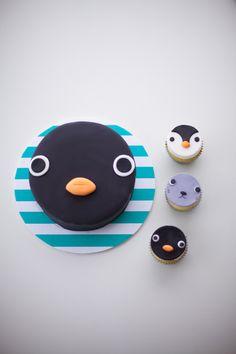 pingu cake by coco cake land