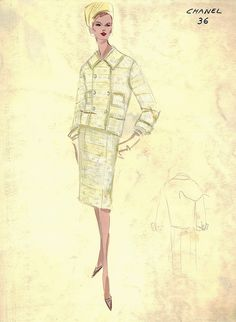 Chanel Suit by FIT Library Department of Special Collections, via Flickr
