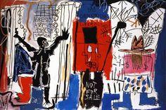 Basquiat graffiti
