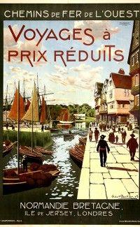 """""""Voyages à Réduits de Prix, Normandie, Bretagne"""" - 1905"""