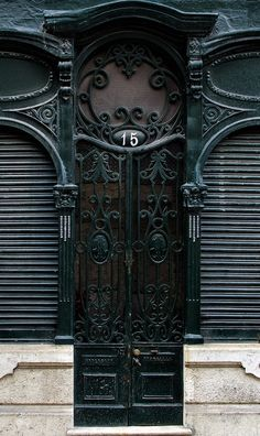 ♅ Detailed Doors to Drool Over ♅  art photographs of door knockers, hardware & portals - Lisbon, Portugal