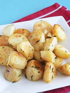 Crispy on the outside, fluffy on the inside - these are my favorite potatoes! Plus, you can customize them to work with whatever you have on hand.