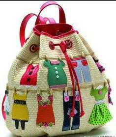 funny backbag