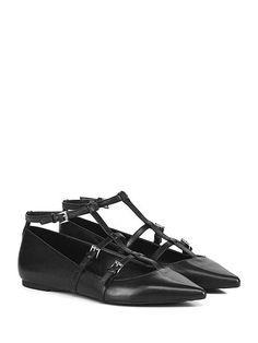 Michael Kors - Scarpa bassa - Donna - Scarpa bassa in pelle con multi cinturino…