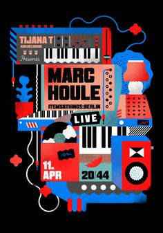 I was playing with modular synths for this poster. Drop by if you find yourself in Belgrade next week. #synth #illustration #poster