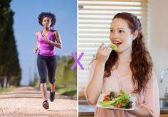 Dieta ou exercícios o que emagrece mais