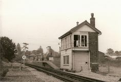 Ongar station, Essex, 1978 - this was the year I got married - I used to catch the train from Ongar to work every day. London Underground Train, London Underground Stations, Old Train Station, Steam Railway, British Rail, Vintage London, Forts, Plans, Locomotive