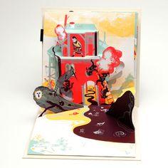 Pop-up book by Mayumi Otero & Raphael Urwiller.