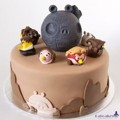 Angry birds Star Wars Cake
