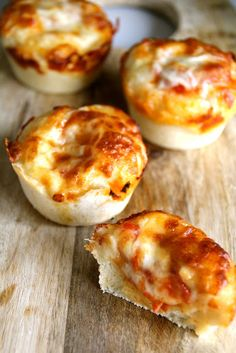 Mini deep pan pizzaer - Pizza i muffinsformer