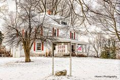 """Great photo of a farm a couple of miles north and a little east of Rockford, Michigan ... """"God's Farm""""  .... Photo by Karen J Photography"""