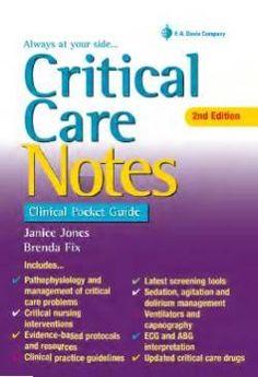Critical Care Notes- Ebook