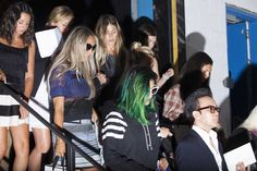 The Prettiest Pics From Fashion Week #refinery29  http://www.refinery29.com/fashion-week-spring-2015-behind-scenes#slide-33  Down the stairs and up the risers at Phillip Lim.