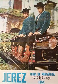 1964 Travel Poster España  Feria de Primavera by OutofCopenhagen