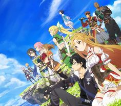Sword Art Online Hollow Realization - By Sword Art Online ღ Sword Art Online Hollow, Sword Art Online Season, Sword Art Online Kirito, Schwertkunst Online, Online Anime, Sao Anime, Manga Anime, Tous Les Anime, Sword Art Online Wallpaper