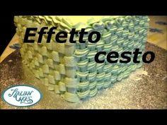 Corso cake design: effetto cesto (basketweave) by Italiancakes