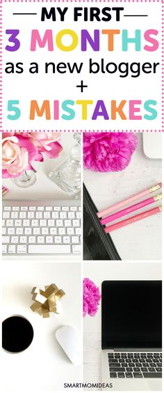 Are you looking for new blogger tips? I've been a new blogger for 3 months now and have made a ton of blogging mistakes! New blogger make money  new blogger post ideas Check out what I accomplished in my first 3 months as a mom blogger and the 5 mistakes I did!