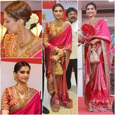 Who : @SonamKapoor Where : #KalyanJewellers Store Launch #Chennai Wearing : @AbuJaniSandeepKhosla Saree and #KalyanJewellers Jewellery Stylist : @RheaKapoor Hair and Make Up : @NamrataSoni #Bollywood #Fashion #Style #Beauty #Glam #IndianFashion #CelebStyle #CelebFashion #BollywoodFashion #BollywoodActress #InstaCeleb #InstaFashion #InstaUpdate #InstaFollow #InstaLike #SonamKapoor #AbuJaniSandeepKhosla #Kalyan