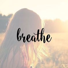 You dont always need a plan Sometimes you just need to breathe Trust Let go And see what happens Mandy Hale drishtiqyoga breathe quote
