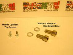 ★Vespa 6 Piece Front Brake Master Cylinder Stainless Steel Fixing Kit - PX200Disc | eBay
