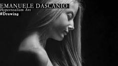 Emanuele Dascanio was born in Garbagnate Milanese in After graduating from Lucio Fontana Art School of Arese, in 2003 he enrolled at the Academy of Bre. Hyperrealistic Drawing, Art School, Graphite, Drawings, Artist, Youtube, Tutorials, Hyperrealism, Graffiti